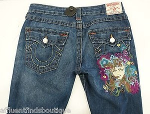 True Religion Joey Flare Leg Jeans