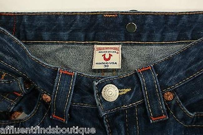 True Religion Joey Embroidered Flare Leg Jeans