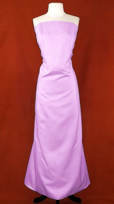 Item - Lilac Satin Polyester Style 10509 Formal Bridesmaid/Mob Dress Size 20 (Plus 1x)
