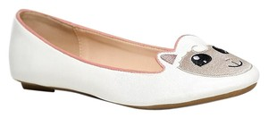 Cute to the Core White Flats