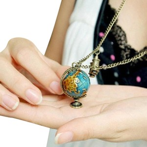 Other New Vintage Globe Telescope Pendant Necklace