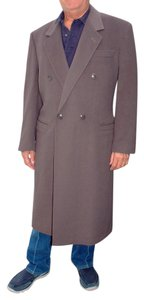 Versace Cashmere Wool Mens Couture Trench Coat