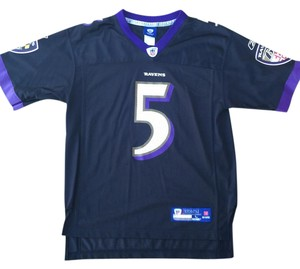 Reebok Joe Flacco Baltimore Ravens Reebok Women's Game Jersey - Black