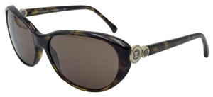 Chanel Vintage Tortoise Collection Bouton Chanel Sunglasses 5190 c.714/3G 58
