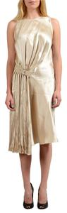 Salvatore Ferragamo short dress Beige on Tradesy