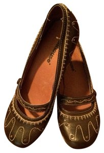 Dollhouse Brown Wedges