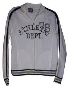 L.A. Kitty L.A.Kitty Zip up Sport jacket White and Black . Size Ladies XL