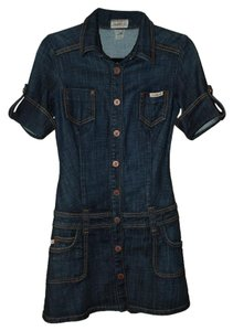 Frankie B short dress Denim on Tradesy