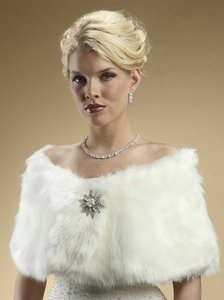 Reserved For L. Faux Fur Stoles Look Book