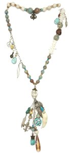 Kinley Sterling Silver Kinley Turquoise and Sandstone Necklace