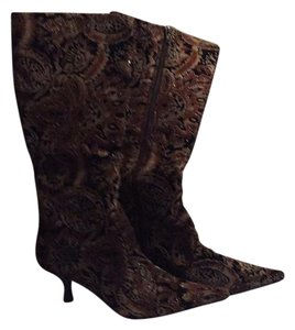 Bronx Multi blk/brn/lgt brn w/a touch of sparkle Boots