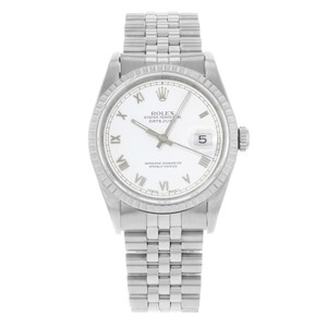 Rolex Rolex Datejust 16220 Stainless Steel Automatic Men's Watch (14677)