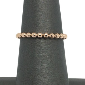Other 14K Solid Rose Gold Beads Band/ Stackable