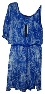 Cynthia Steffe short dress Blue Abstract on Tradesy