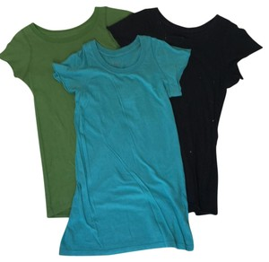Generra T Shirt Black, green, teal