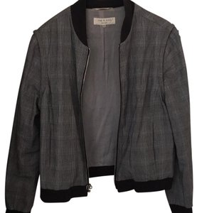 Rag & Bone Black, white & scattered Blue Jacket