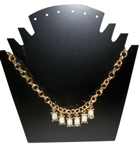 Amy's Treasure Box Clear Crystals Fashion Necklace
