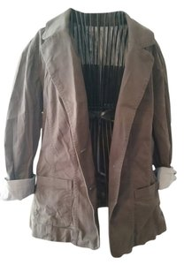 Sonoma Cardigan Button Up Brown Dark Brown Chocolate Blazer