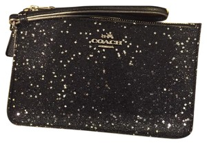 Coach Chistmas Holiday Gifts Wristlet in Black