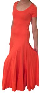Orange Maxi Dress by Polo Ralph Lauren