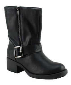 Red Circle Footwear Black Boots