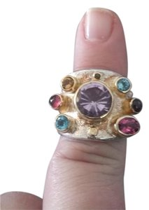 Michou Michou Multi Gemstone Ring