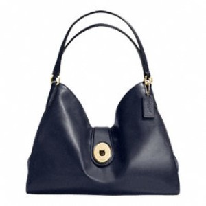 Coach Carlyle Midnight Gold F37637 Shoulder Bag