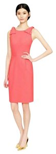 J.Crew Bow Wool Girly Work Pink Dress