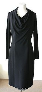 Max Mara Drape Neck Stretchy Or Dress