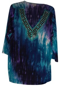Esstential Jewels Beading Night Out Designer Casual Tunic