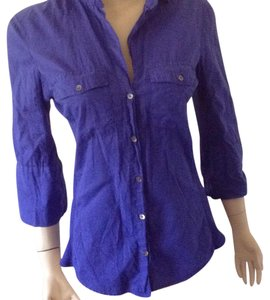 James Perse Top Bluebell purple