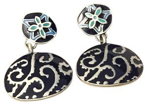 Chico's Chico's Enamel Cloisonne Dangle Earrings