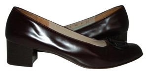 Salvatore Ferragamo BURGANDY Pumps
