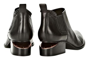 Alexander Wang Italian Leather Chunky Black Boots