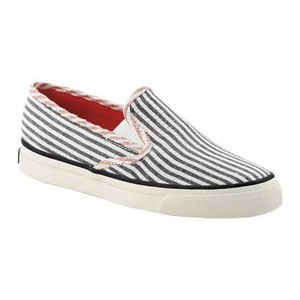 Sperry Pink Blue White Flats