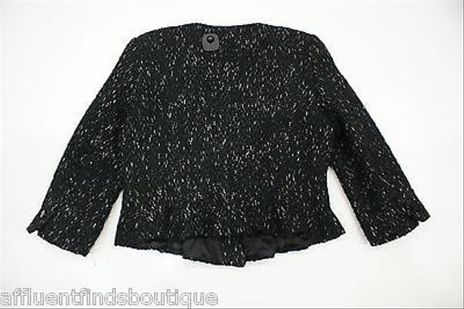 Carolina Herrera Ch Carolina Herrera Black White Tweed Jacket