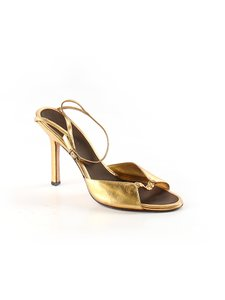 BCBGMAXAZRIA Ankle Strap Designer Prom Homecoming Wedding GOLD Sandals