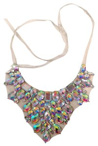 Other Costume Rhinestone Bib Princess Necklace