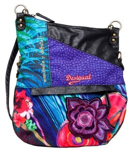 Desigual Unique Colorful Cross Body Bag