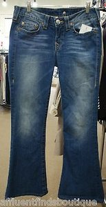 True Religion Carrie Flare Leg Jeans