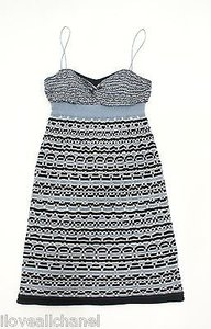 Iisli short dress Blue and Black Mirage on Tradesy