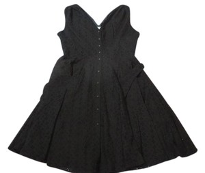 Calvin Klein short dress Eyelet Black on Tradesy