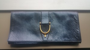 Gucci Handbag Blue Clutch