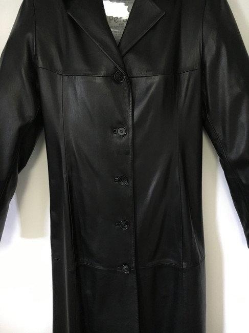Other Lined Full Length Pockets Soft Trench Coat Image 2