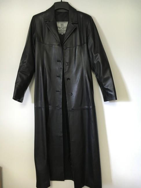 Other Lined Full Length Pockets Soft Trench Coat Image 3