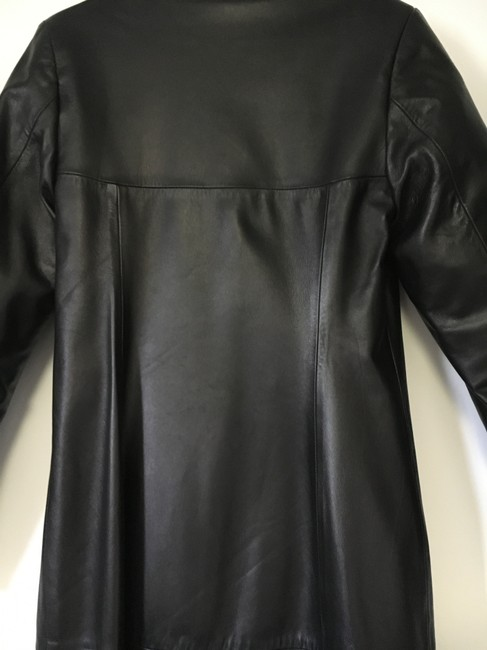 Other Lined Full Length Pockets Soft Trench Coat Image 7