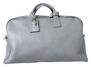 Louis Vuitton Taiga Leather Kendall Duffle Gray Travel Bag