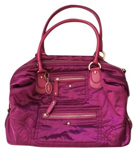 Tod's Tote in Plum