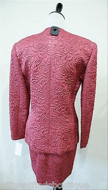 Peggy Jennings Peggy Jennings Rose Brocade Skirt Suit 24