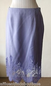 Valentino Boutique Lavender Skirt Purple